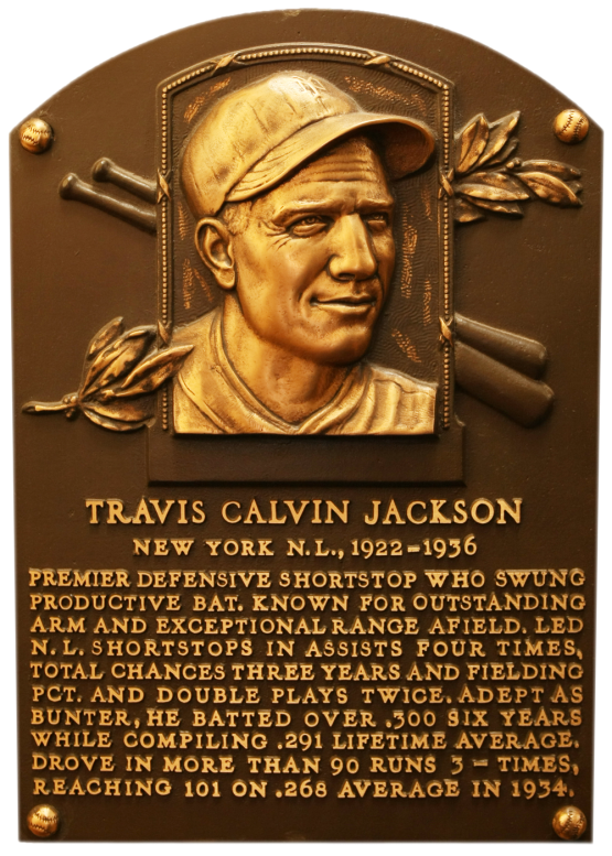 Jackson Travis Plaque 258__0