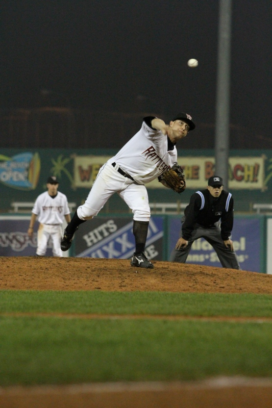 That time TJ Mittelstaedt pitched for the Timber Rattlers in 2011.