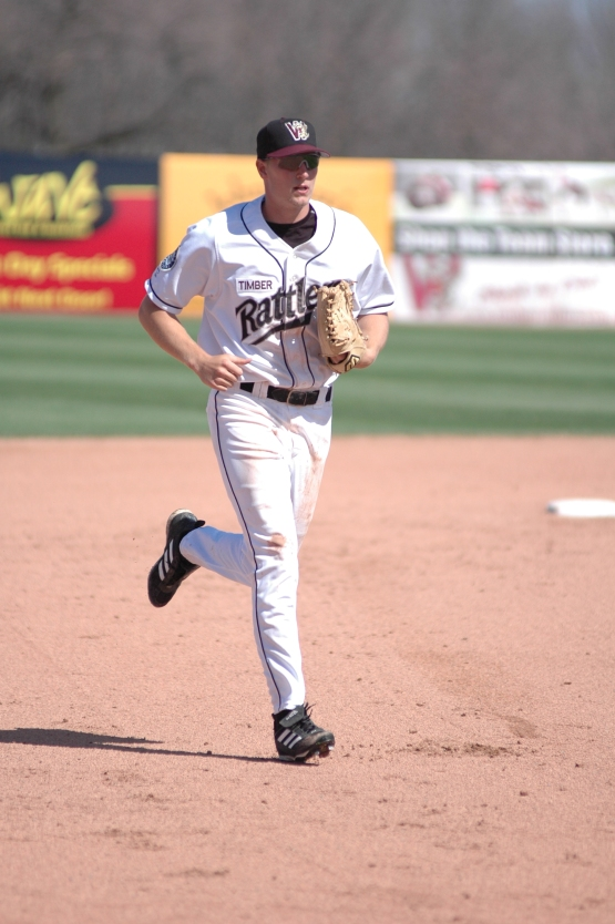 Michael Saunders as a Rattler in 2006.