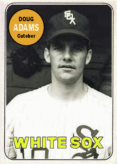 Adams was born in Blue River, Wisconsin and went on to play eight games with the White Sox in 1969.