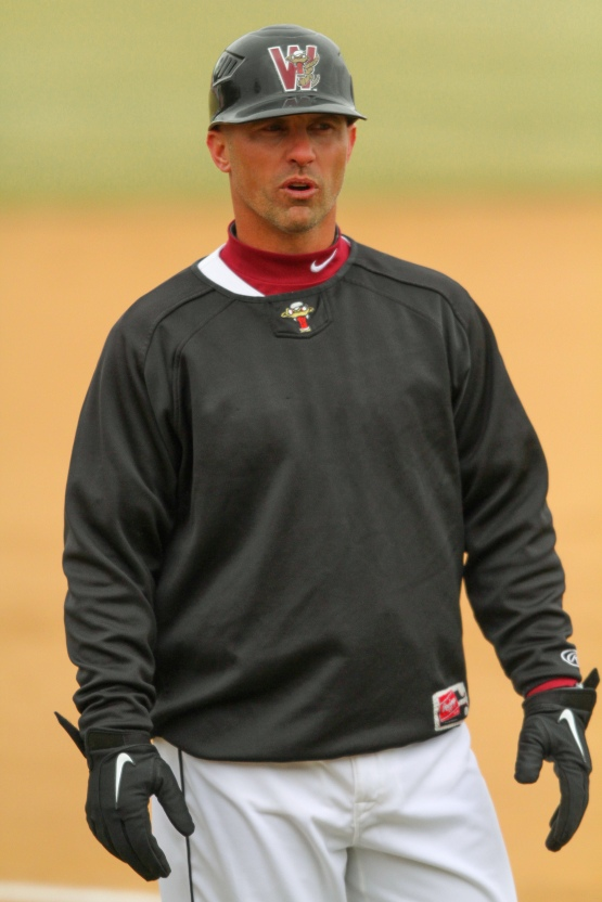 Matt Erickson, manager of the Wisconsin Timber Rattlers.
