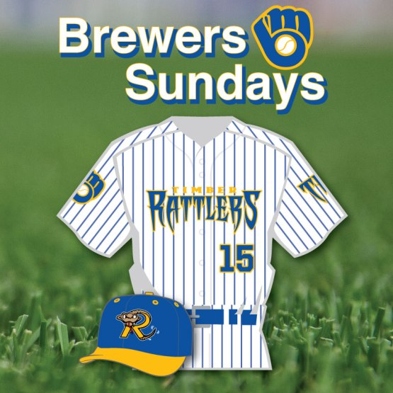 2015 Brewers Sunday Jersey & Cap