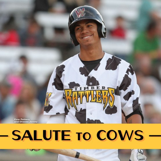 The Cow-Patterned Jerseys return from 2014 for 2015