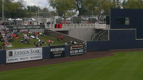 This is the outfield clock to move things along between innings and pitching changes.