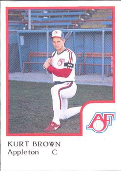 Kurt Brown 1986