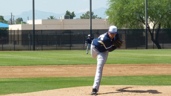 Devin Williams makes a pitch in the first inning on Friday.
