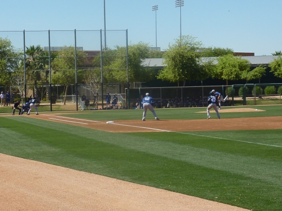 Offense at Camelback.