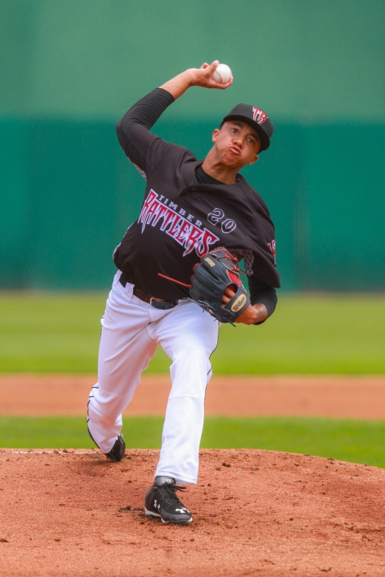 Devin Williams made his Midwest League debut for the Rattlers on Saturday.