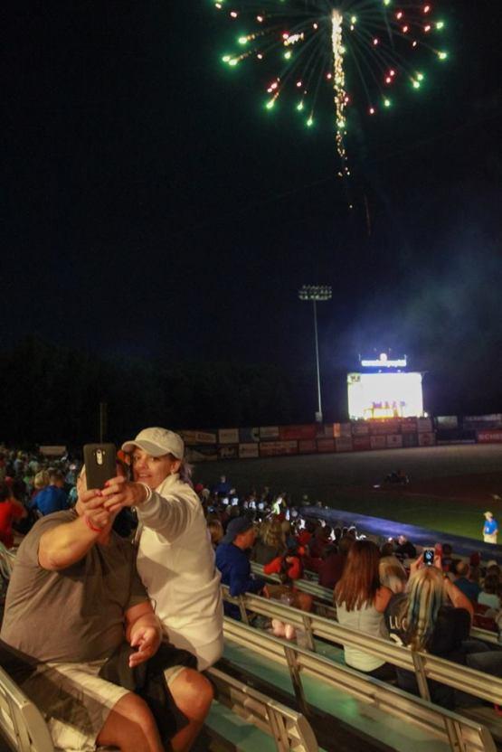 Fireworks Selfie