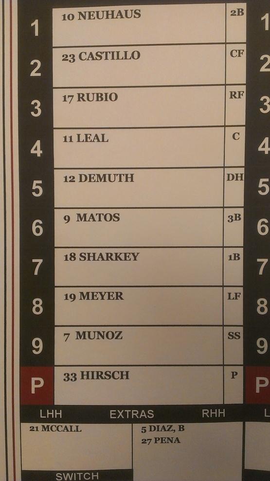 June 13 lineup